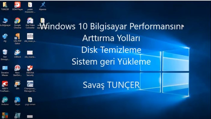Ways to Increase Computer Performance in Windows 10: Disk Cleanup, System Restore