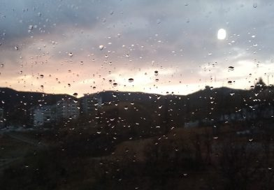 A Beautiful, Rainy Tunceli Sunset